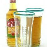Szklanka w kształcie butelki piwa desperados