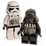 Zegar lego star wars